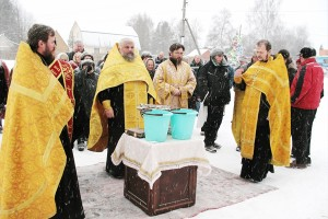 Князь-Владимирский храм. Чин освящения храма-часовни